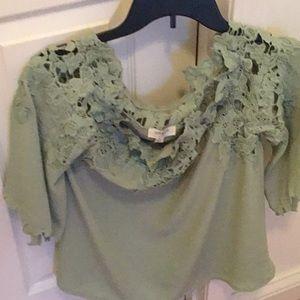Sage green Umgee blouse